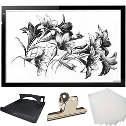 Light Boxes Huion Thin Light PAD LED Drawing Copy Tracing Stencil Board Pad A2H