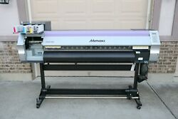 MIMAKI JV33-130 eco-solvent printer NEW HEAD mutoh roland graphtec summa150 160 $5,000.00