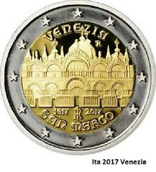 IN STOCK - ITALY 2 Euro 2017 - Basilica of San Marco - UNC