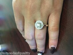 Diamond Engagement Ring  0.85 Ctw Round Diamond Jewelry White Gold SI1 G  NR