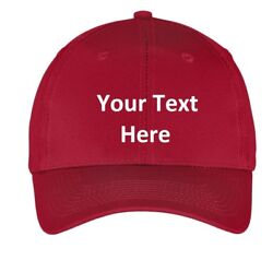 Baseball cap hat Custom Embroidery Personalized Embroidered $11.99