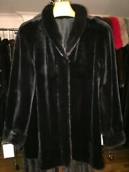 STUNNING BRAND NEW WTAGS RANCH FULL SKIN SHEARED MINK JACKET.SIZE 10. $12000.00