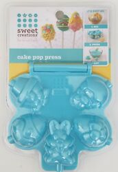 NEW SWEET CREATIONS BY GOOD COOK EASTER CAKE POP PRESS 5 MOLDS BUNNY CHICK EGGS