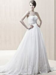 Absolutely brand NEW Ivory dress by Enzoani