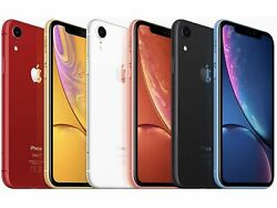 Apple iPhone XR 64GB Factory Unlocked Smartphone 4G LTE iOS Smartphone $364.99