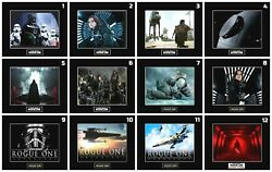12 STAR WARS ROGUE ONE Character 8quot; x 10quot; Photos 11quot;x14quot; Matted CHOOSE ANY 1 $6.75