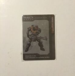 Halo Reach Bungie Collectible Noble Team Metal Card Chief Warrant Officer Jorge $8.95