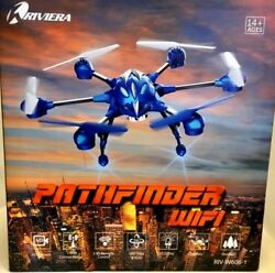 RIVIERA RC Pathfinder Hexacopter Drone RIV W606 1 HD Camera Blue Watch Video $80.00