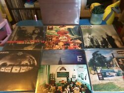 Oasis First Press Mint Sealed Job Lot Vinyl Record Be Here Now Masterplan