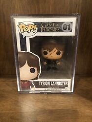 Game Of Thrones Funko Pop Popcultcha Scarred Tyrion Lannister 100% Mint!!!