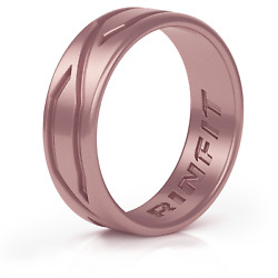 Silicone Wedding Ring for Women - Patented design - 4LOVE collection by Rinfit $8.99
