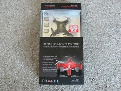 Propel RC Atom 1.0 Micro Drone Indoor Outdoor Wireless Quadrocopter Black OD2104 $19.98
