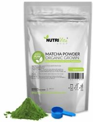 100% Pure Matcha Green Tea Powder Organically Grown Japanese nonGMO Vegan Japan $20.95