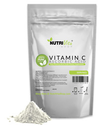 NEW 100% PURE L ASCORBIC ACID VITAMIN C POWDER NonGMO USA ORGANIC SOURCED VEGAN $13.95