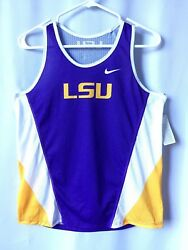 Womens Racerback LSU State College Tank Medium Med