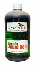 Liquid Kelp Natural Seaweed Fertilizer for Seed Germination amp; Healthy Roots 32oz $32.99
