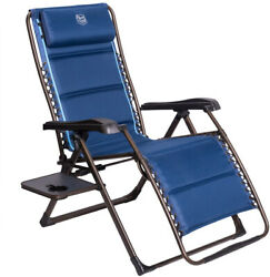 Timber Ridge Zero Gravity Patio Locking Lounge Chair Oversize XL Padded With