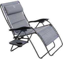 Timber Ridge Zero Gravity Patio Locking Lounge Chair Oversize XXL Padded With