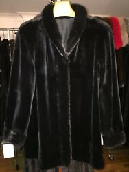 BRAND NEW WTAGS CLASSIC RANCH FULL SKIN SHEARED MINK JACKET.SIZE 10. $12000.00