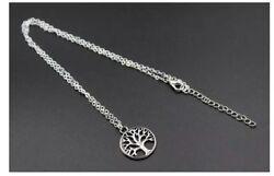 Tree Of Life Necklace Silver Girl's Women's Unisex