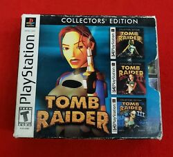 Tomb Raider Collectors' Edition (Sony PlayStation 1 2002) Free Shipping
