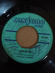 Larry And Alvin  Bob Andy – Love Got Me  Lady With The Bright Light (CS 7081)