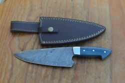 damascus handmade kitchenhunting knife From The Eagle Collection ASM1495
