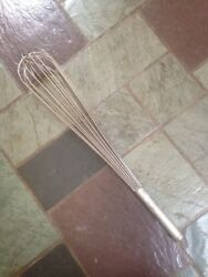 heavy Duty Commercial Wire Whisk 24 Inches Stainless Steel