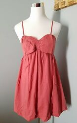 American Rag Cie Women#x27;s Sz Medium Classy Cocktail Bow Dress Beautiful Color $5.00