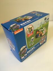 Paw Patrol Rocky's Transforming Recycle Truck with Pop-out Tools and Moving Fork