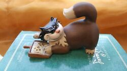 WDCC DISNEY CINDERELLA LUCIFER 'MEANY SNEAKY ROOS-A-FEE' ORIG BOX