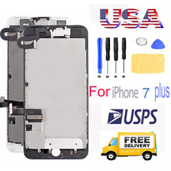A1661 For iPhone7 Plus LCD Replacement 3D Touch Screen Digitizer Assembly+Camera $19.98
