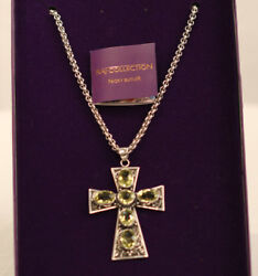 Nicky Butler Limited Edition Raj Collection Cross Pendant & Necklace NIB