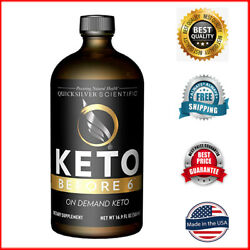 Quicksilver Scientific - Keto Before 6 - Fast Track The Body to Keto