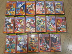Super rare!! Getter Robo 1-17 volumes All video VHS Movie Japan robot Anime