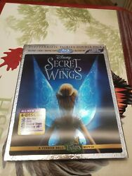 Secret of the Wings (Blu-ray + 3D  2012 3-Disc Set w Slipcover)