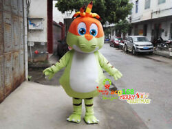 Dinosaur Mascot Costume Cartoon Suit Outfit Fancy Dress Cosplay Party Animal NEW
