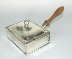 Vintage Miniature Silver Plated Butler Crumb Catcher 6