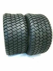 Set TWO 15x6.00 6 Lawn Tractor 4 Ply Rated Heavy Duty 15x6 6 NHS $46.88