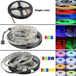 DC12V LED Strip 5M SMD 5050 RGB Waterproof 300LED RGBW RGBWW LED Strips Lights