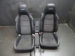 GENUINE _ PORSCHE CARRERA 991 GTS  ______  LEATHER ALCANTARA SEATS GT3 GT3RS 981