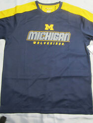 NCAA Michigan Wolverines Champion Impact T Shirt Medium Large X Large New $12.99