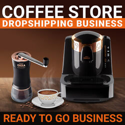 Coffee Store - Dropshipping Business - Ready To Go Website $129.00