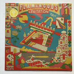 Flamingods LEVITATION Dinked LP Ltd To 400 Gold RECORD Sealed W Signed Print