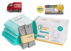 4 Pack Refill Fits Dekor Plus Diaper Pails Disposable Liners Hold Up to 2372 $28.49