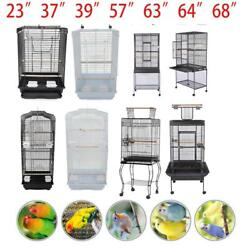 23quot;37quot; 57quot; 39quot; 63quot; 64quot; 68quot;Small Large Bird Cage Parrot Cages House with Perches $38.59