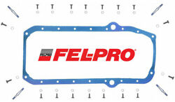 FEL PRO Neoprene Oil Pan Gasket OS34510T THICK for Chevy SB 350 383 400 2PC Rear