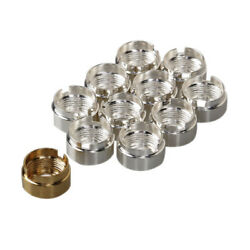 30pcs.pack MAGNETIC CONNECTOR Magnetic 510 thread Golden Silver