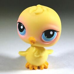 Littlest Pet Shop Yellow Chick Bird with Blue Eyes 2004 Hasbro LPS #13