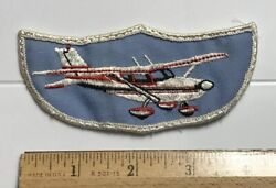 Small Light Plane Prop Plane Propeller Airplane Souvenir Embroidered Patch $12.00